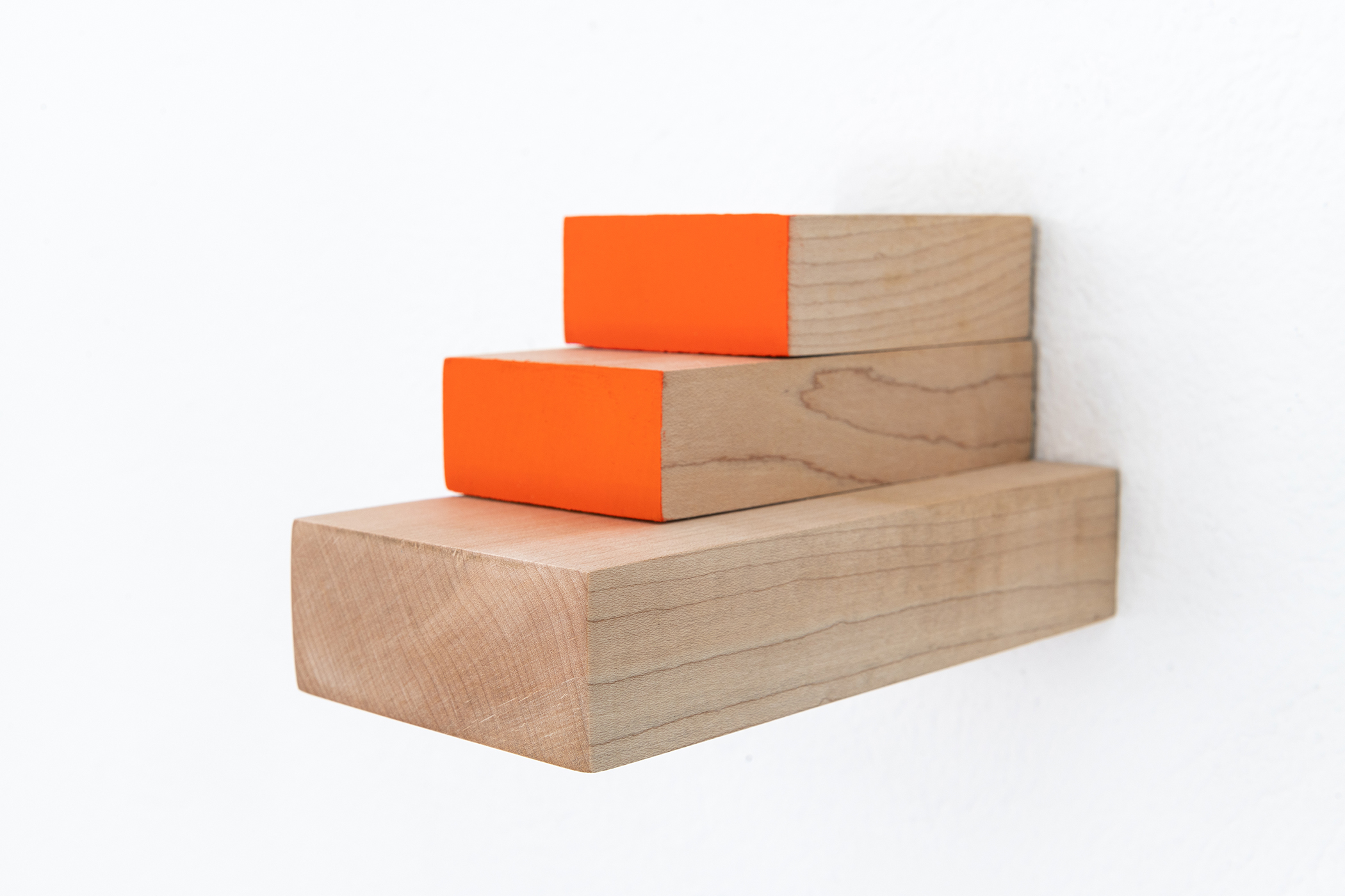 Orange and me, 2019, side view
