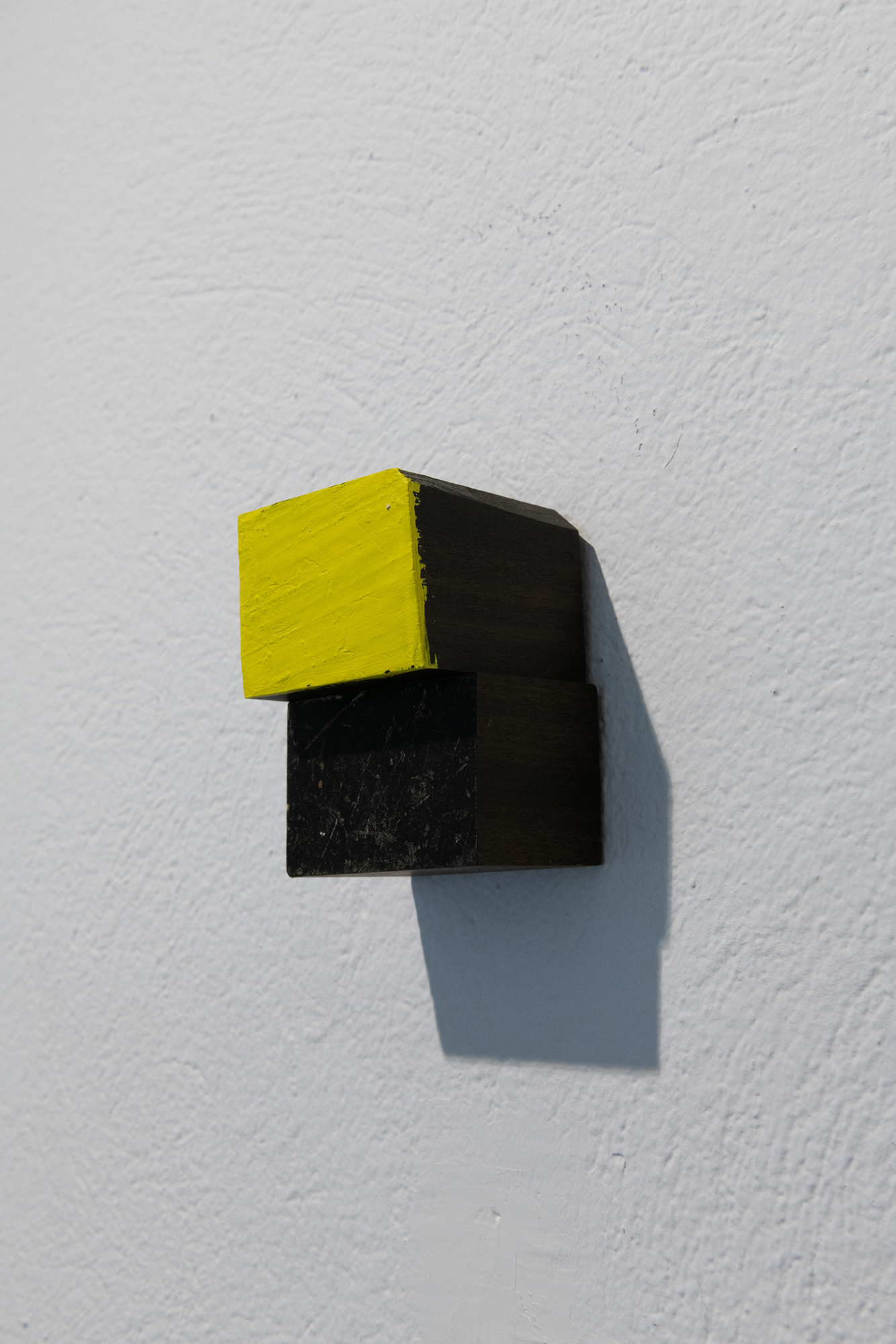Yellow and me, 2019, exhibition view.