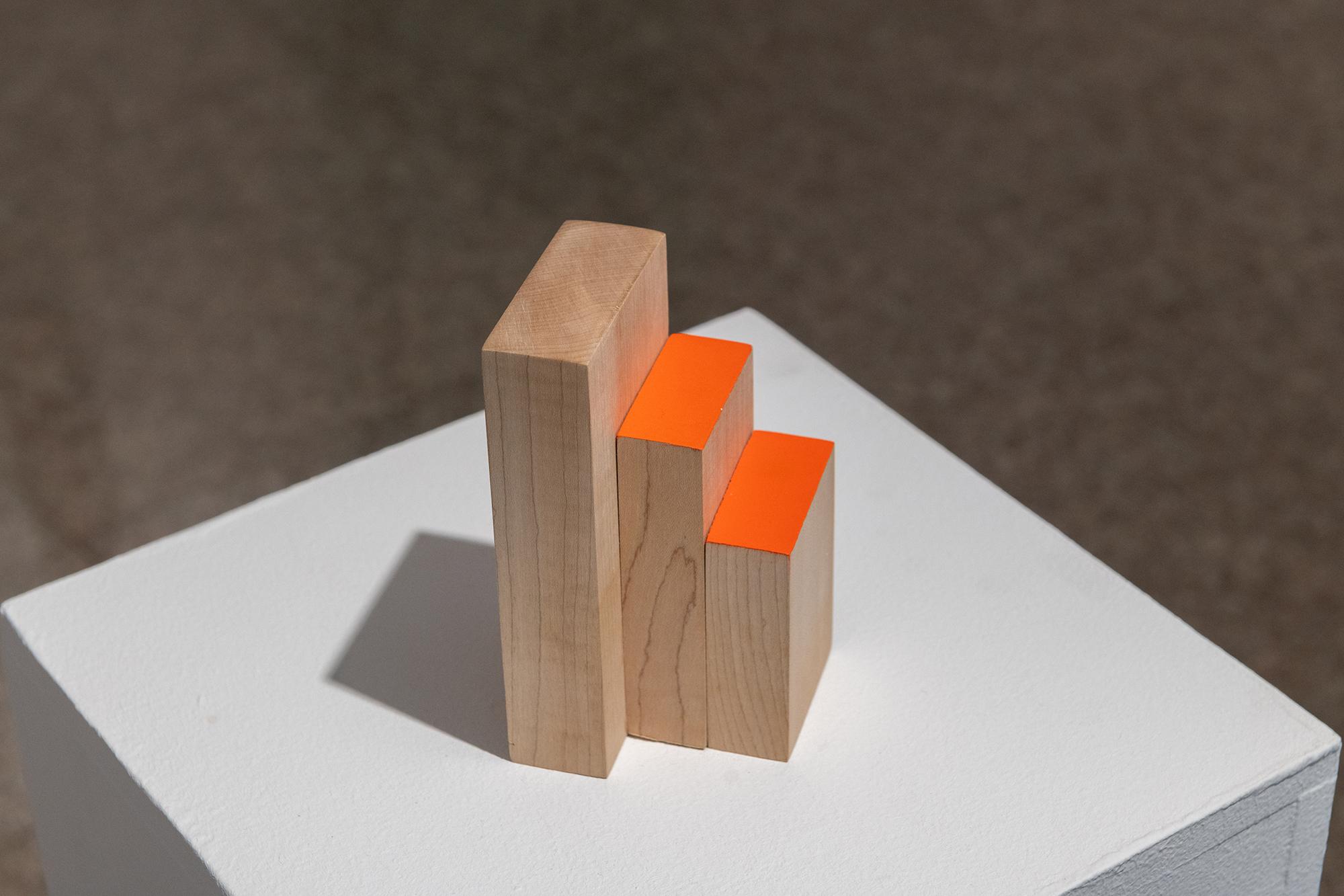 Orange and me, 2019, exhibition view