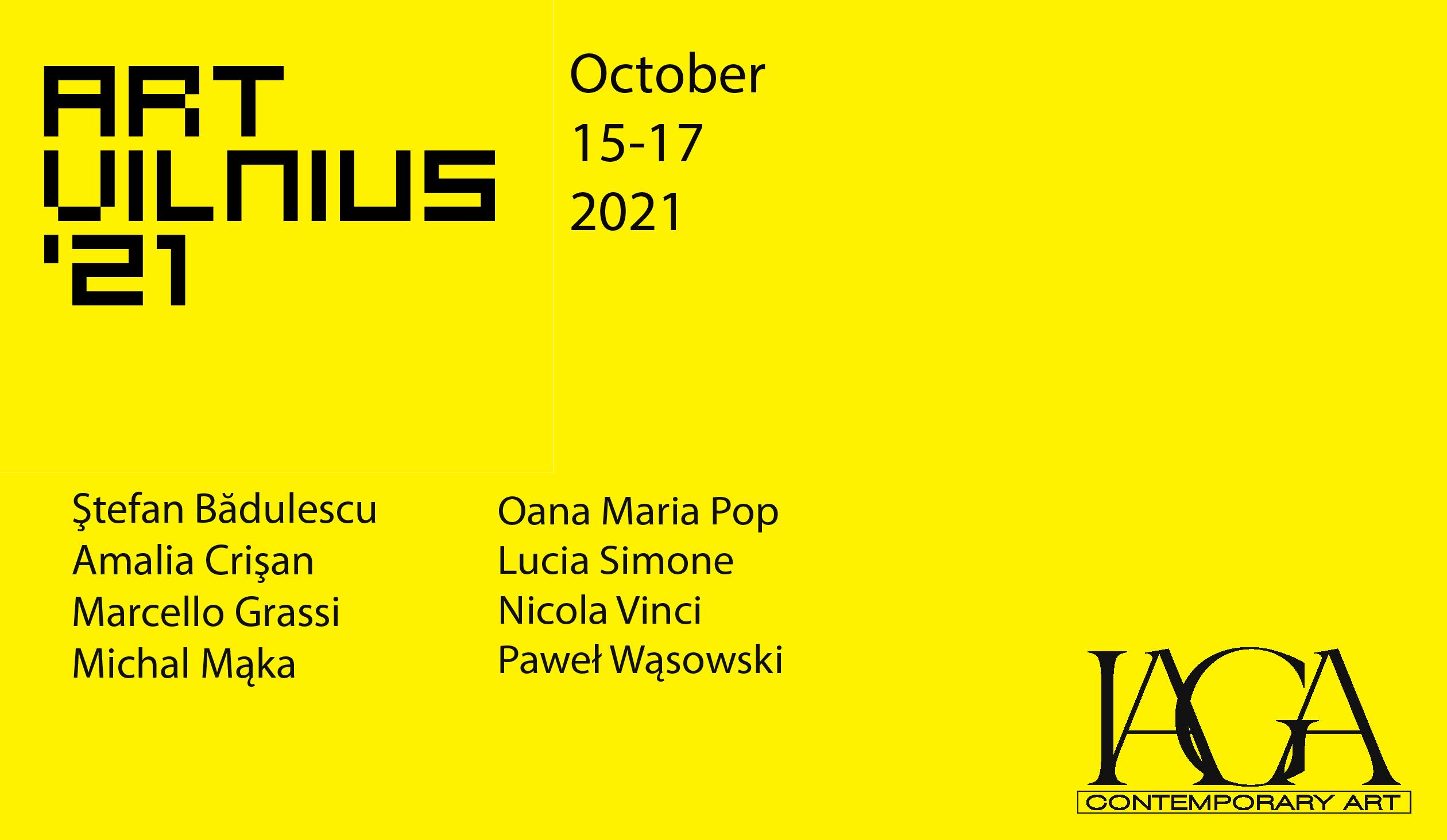 Art Vilnius 2021